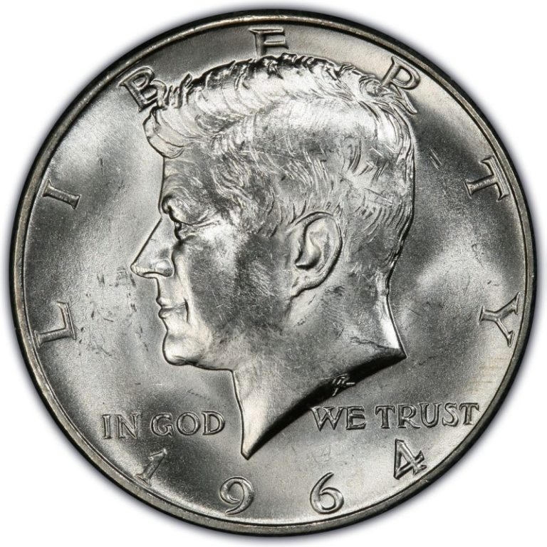 Silver United States Kennedy Half-Dollar Coin 90%