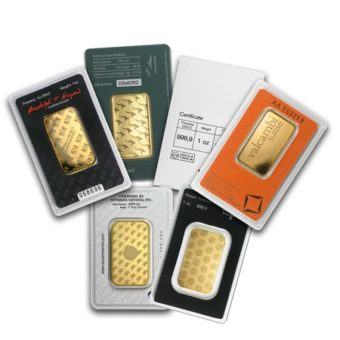 Gold Bar 1 oz.