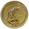 Gold Canadian Grizzly Bear Coin - 1/3rd Ounce