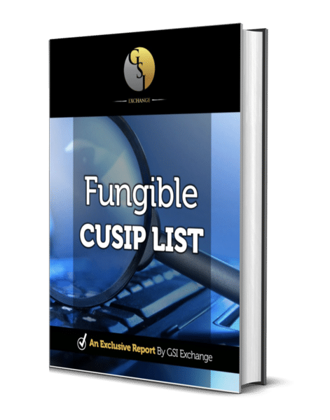 Fungible Cusip List Cover
